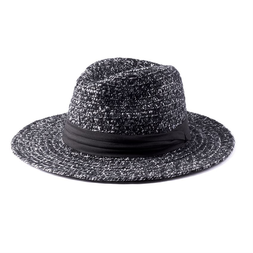 d093359a99397 Packable Soft Knit Fedora in Black – Spruced Boutique