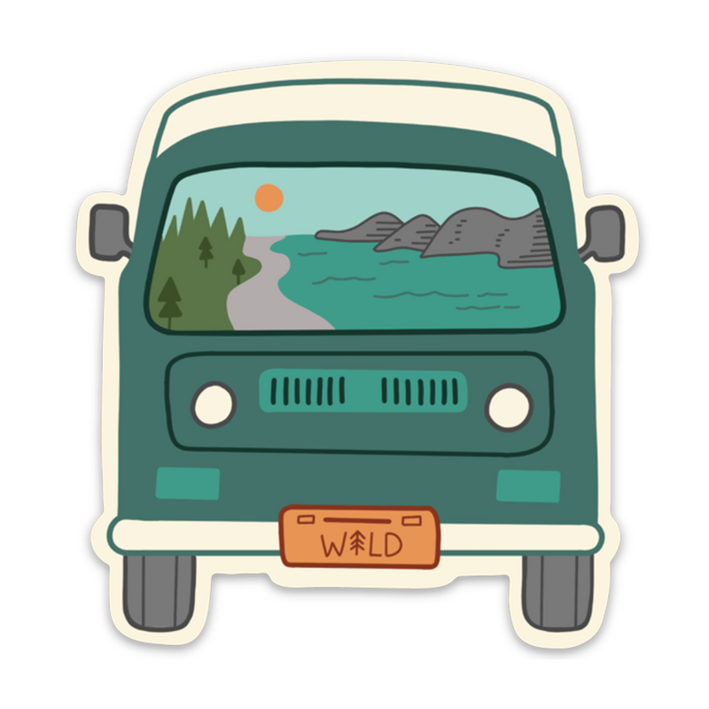 Wild Ride Sticker