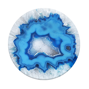 PopSockets in Ice Blue Agate