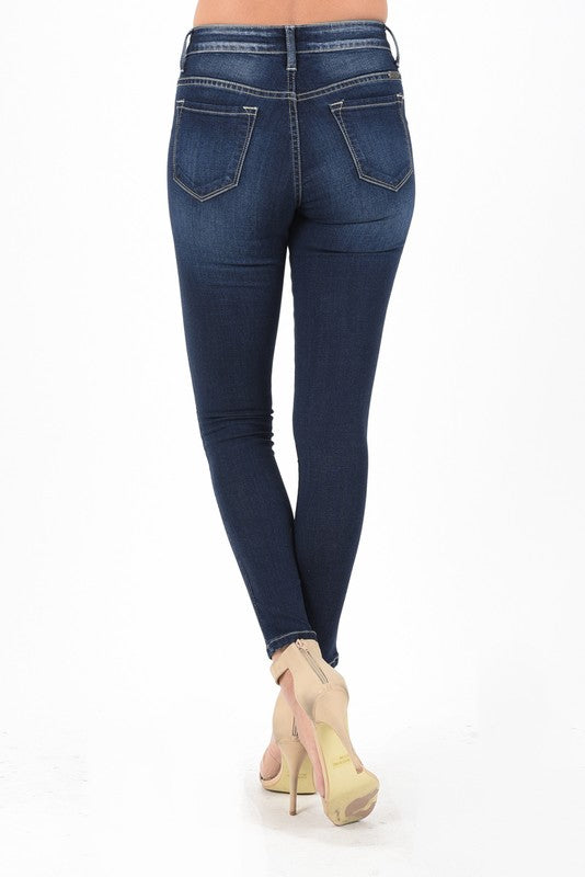 Carly Mid-Rise Skinny Jean by KanCan