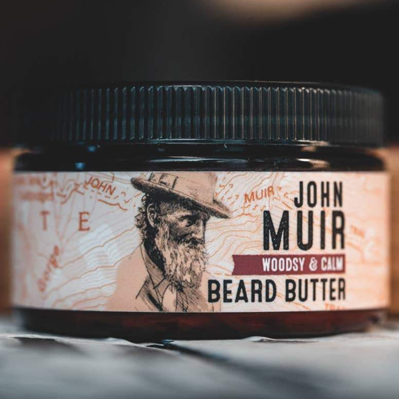 John Muir Beard Butter