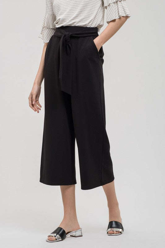 Emmie Culottes in Black