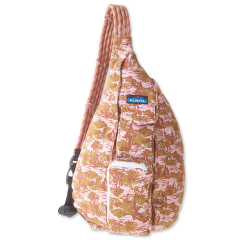 KAVU Rope Bag in Black Batik