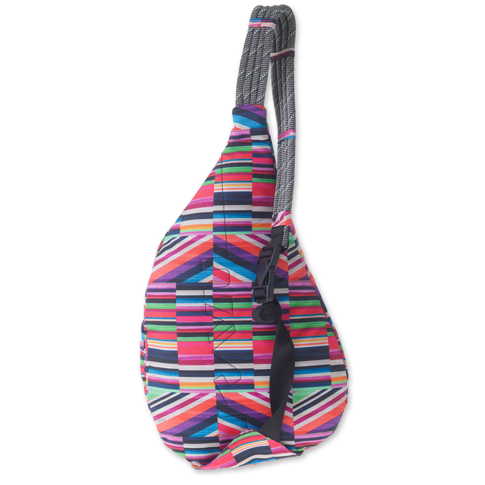 KAVU Rope Sling in Jewel Stripe