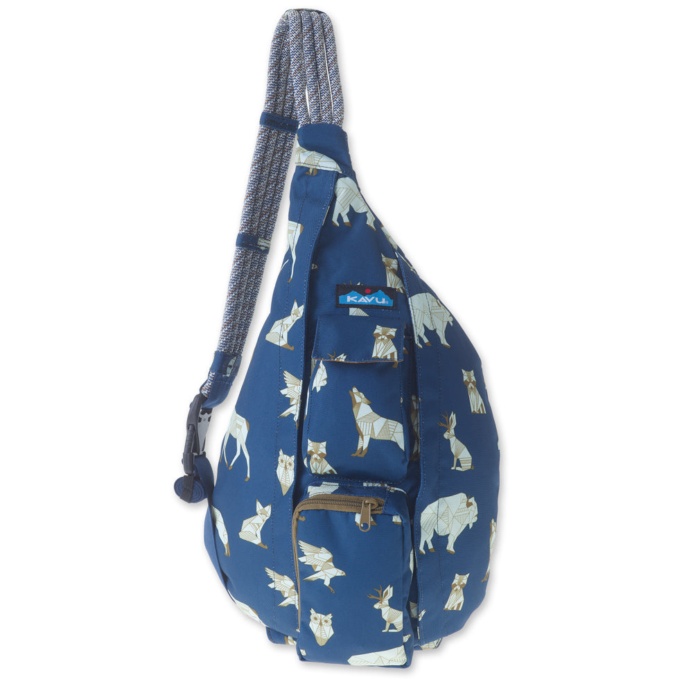 KAVU Rope Sling in Navy Range