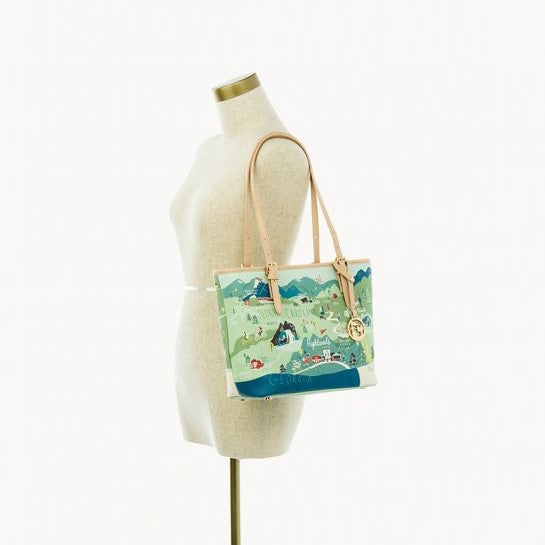 Blue Ridge Mountains Small Tote by Spartina 449