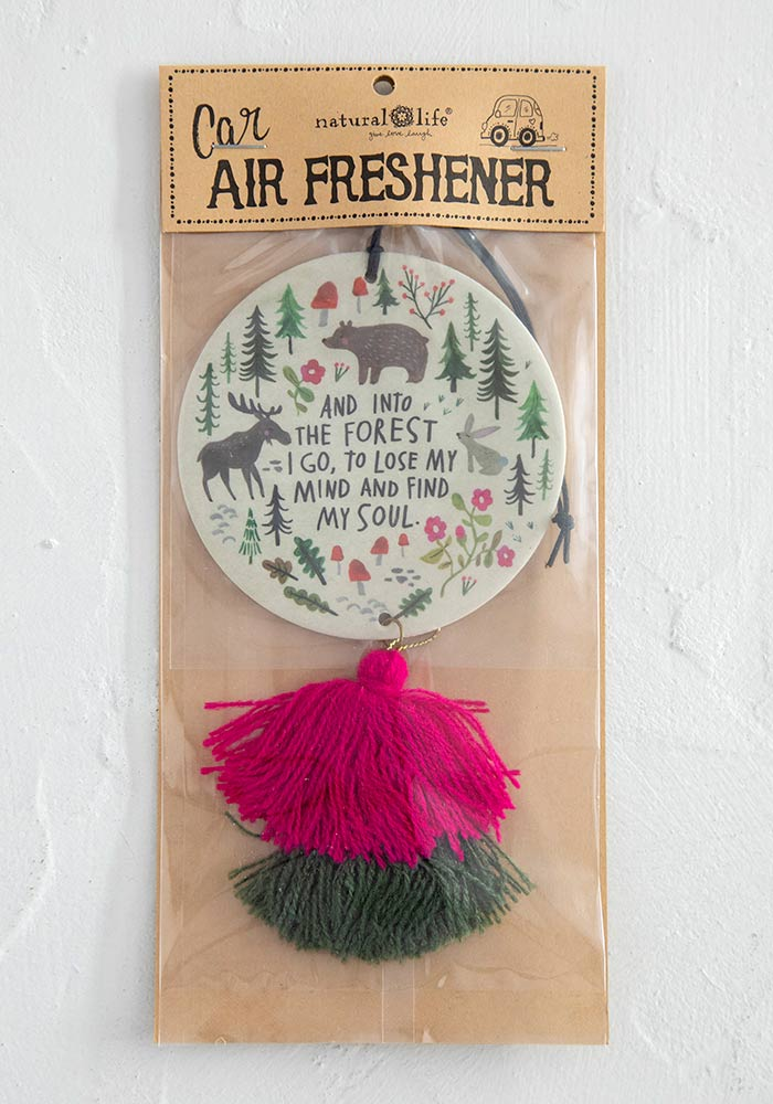 "Car Air Freshener in ""Into the Forest"""