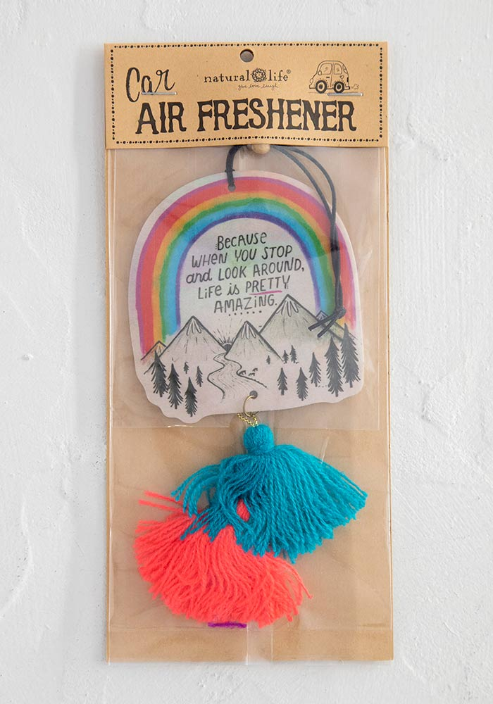 "Car Air Freshener in ""Life is Pretty Amazing"""