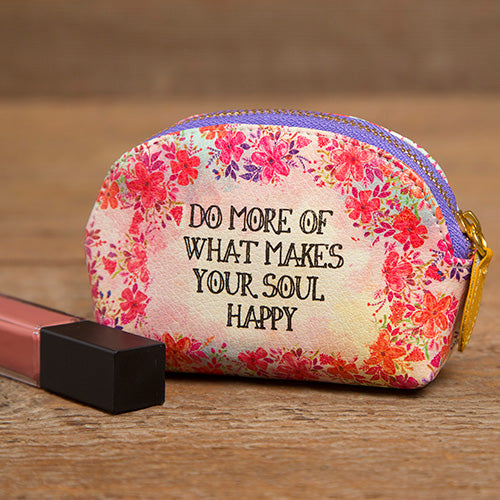 Mini Pouch Do More of What Makes You Happy