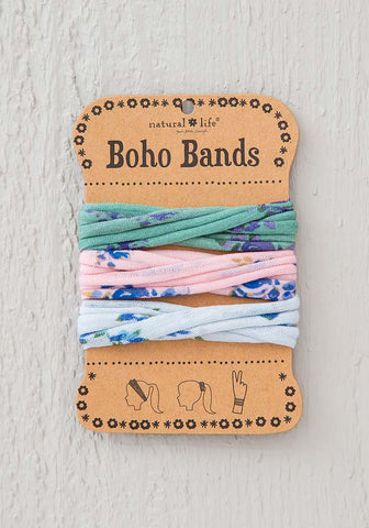 Boho Bands in Pink Polka Dot