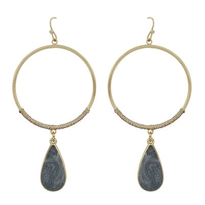 Unchained Circle Earrings