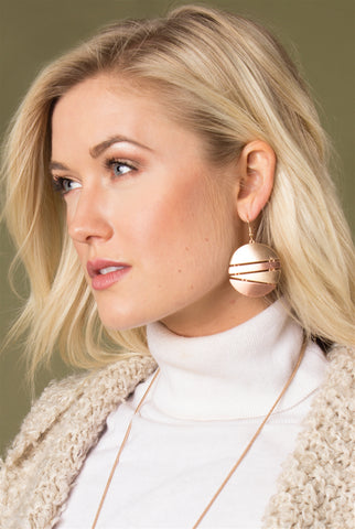 Lo & Be Bold Pendant Earrings