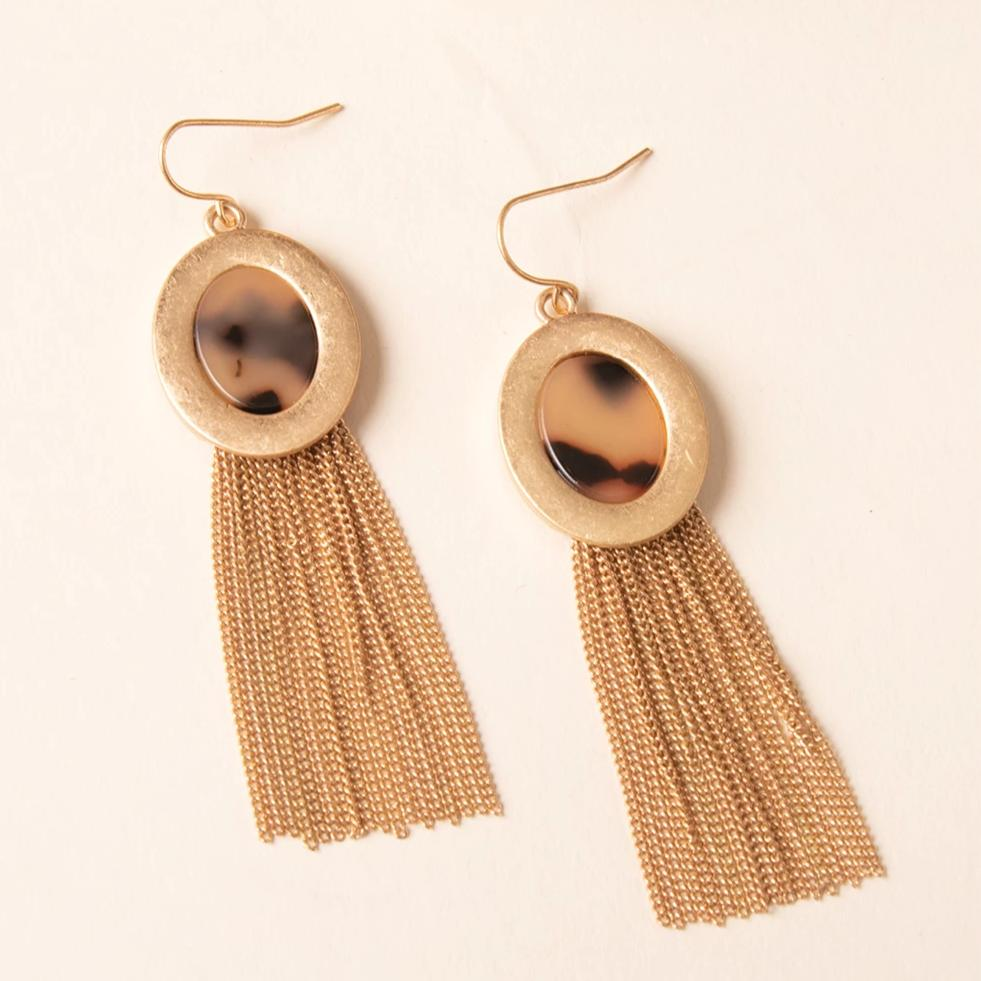 Wild Instincts Tassel Earrings