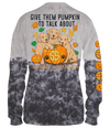 "Simply Southern ""Give Them Pumpkin To Talk About"" in Tie Dye"