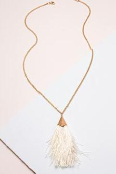 Feather In Your Cap Necklace