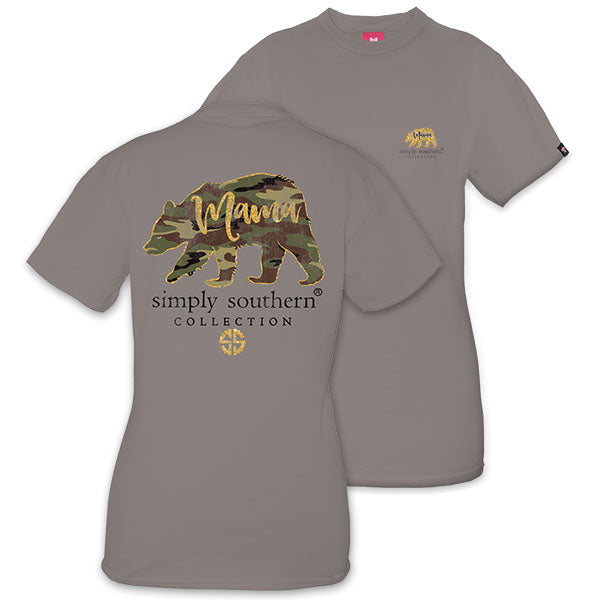 1498c4bbf59 Simply Southern Camo Mama Bear in Steel – Spruced Boutique