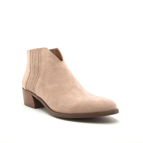 Blair Bootie in Taupe
