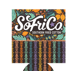 Southern Fried Cotton Koozie in Harvest Wishes