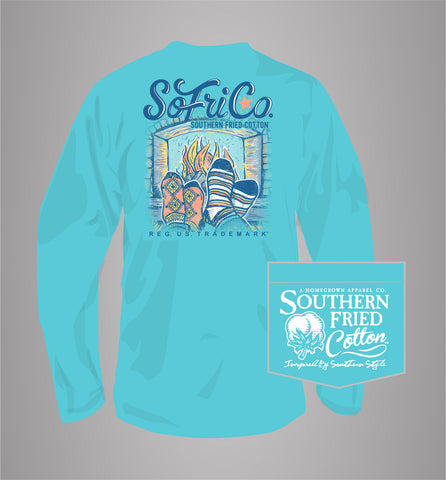 "Simply Southern Turtle ""Young Wild Happy Classy"" in Tie Dye"