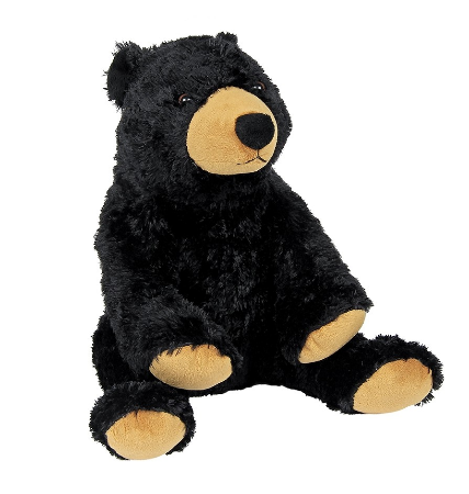 Griffin the Black Bear Plush Toy and Blanket Gift Set