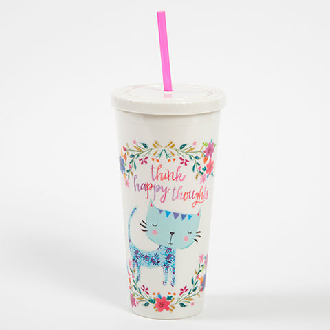 """Sunshine on My Shoulders"" On The Go Cup"