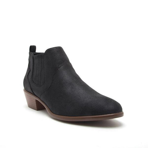 Benton Bootie in Light Taupe Oil Finish
