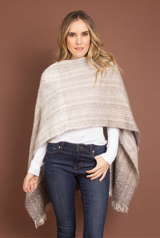 Katydid Pullover Sherpa in Charcoal