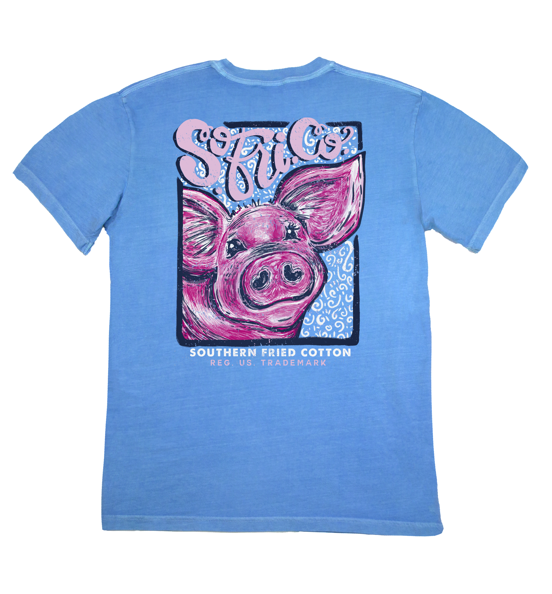 "Southern Fried Cotton's ""Curly Sue"" Short Sleeve T-Shirt"