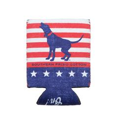 Southern Fried Cotton Koozie in American Hound