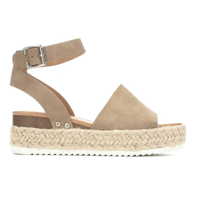 Soda Topic Sandal in Dark Natural