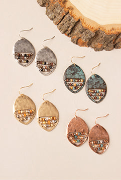 Feeling Groovy Circle Earrings