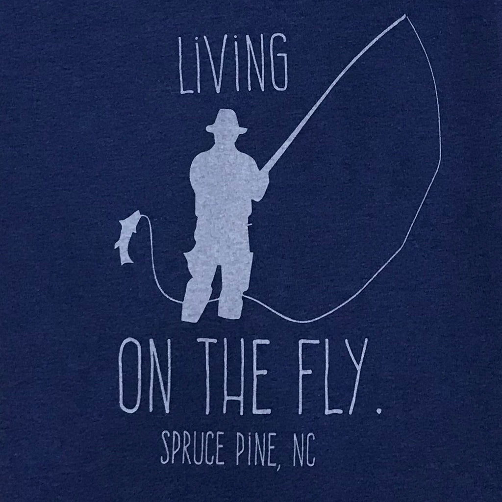 Living on the Fly - Spruce Pine in Blue