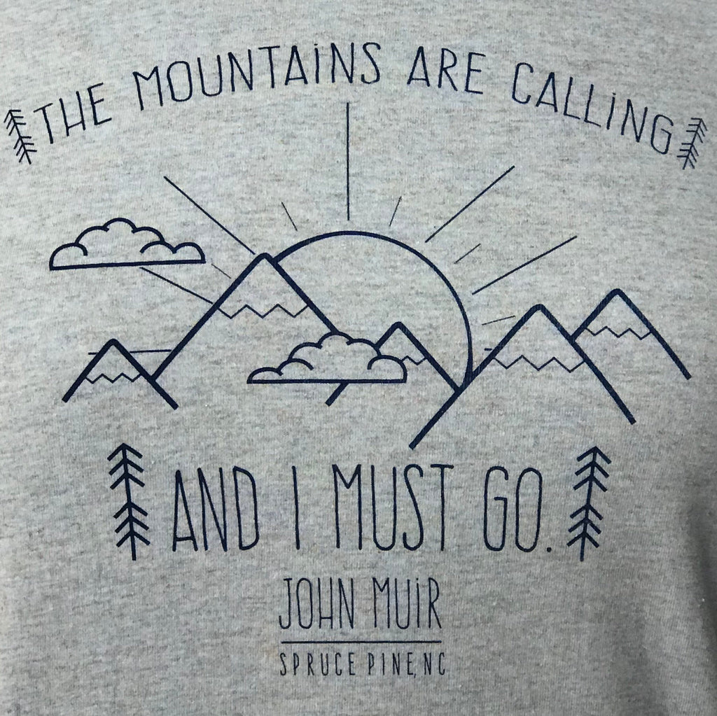 Mountains Are Calling - Spruce Pine in Cool Blue