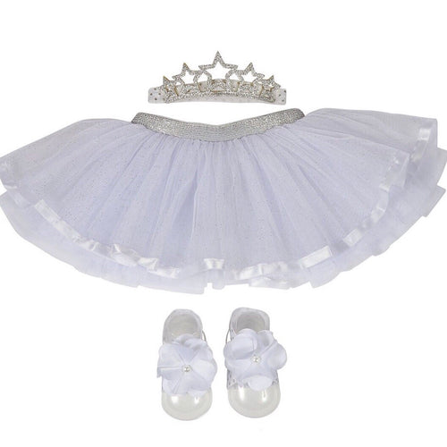 White Princess Tutu Set