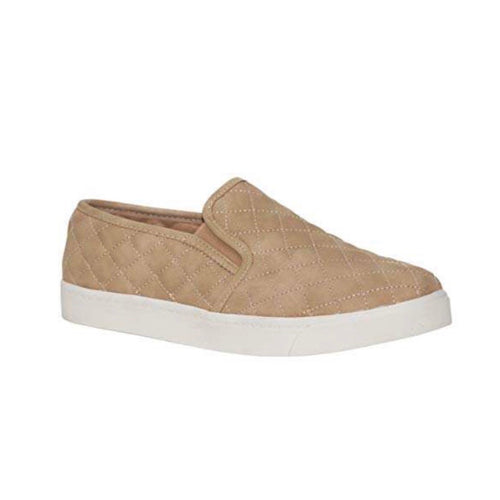 Soda Quilted Slip-On in Taupe