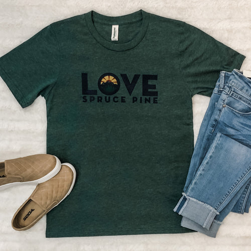 LOVE Spruce Pine T-Shirt in Pine