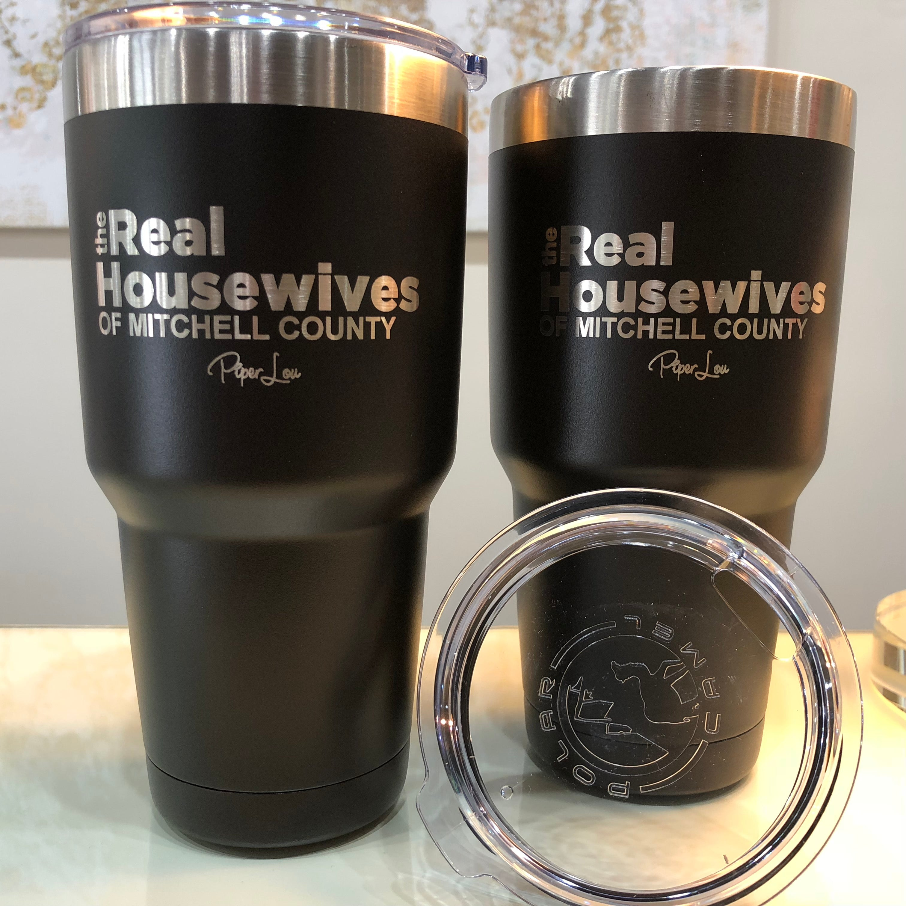 9ecf8edcfdd88 The Real Housewives of Mitchell County 30oz. Tumbler in Black ...