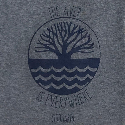 """The River Is Everywhere"" in Heather Blue"