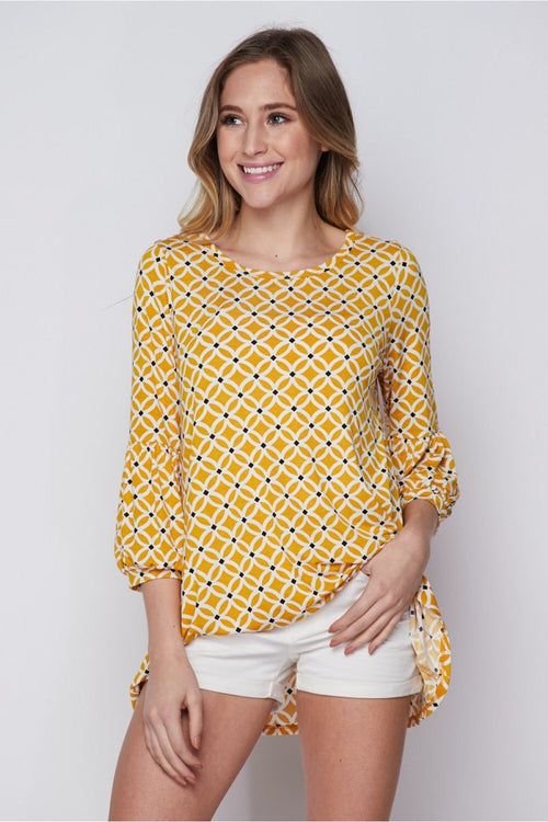 Jessamy Top in Honey