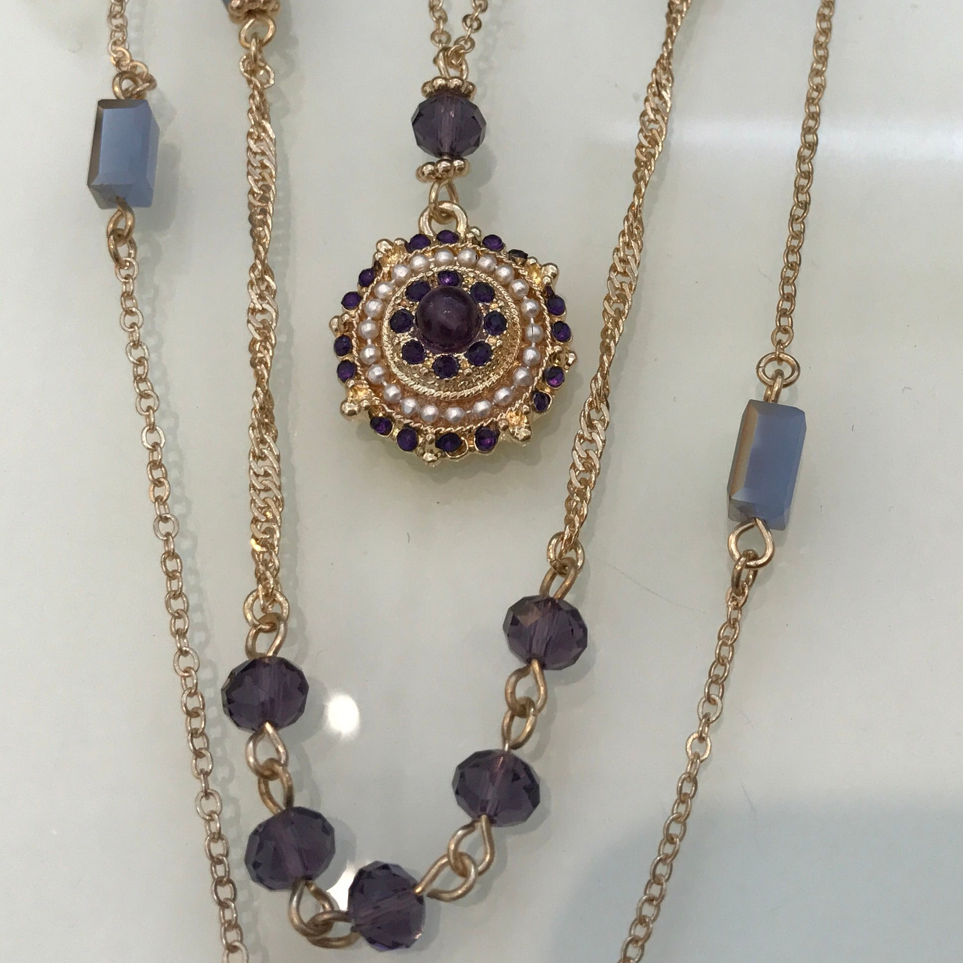 artisan layer layering products with pendant tiered prince evangeline fredrick jewelry evangeine necklace
