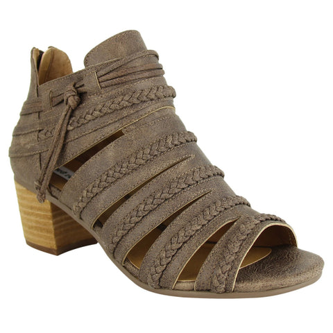 Chantal Sandal in Bronze