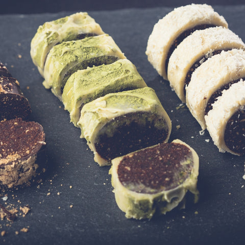 Matcha - Chocolate Sushi