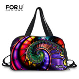 Rainbow Persian Style Women Yoga Mat Sport Bags Waterproof Shoes Pocket - Star Bright Jewelry