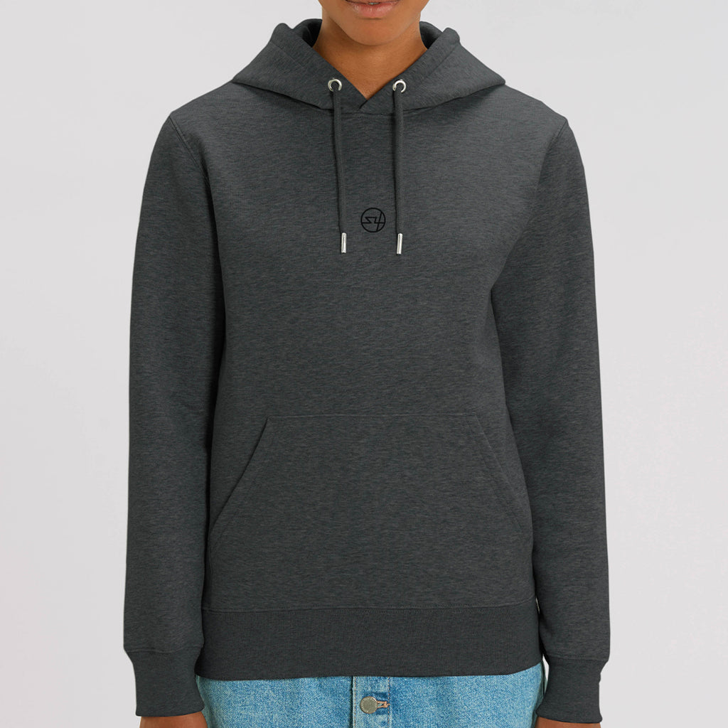 S4 Block Hoodie - Dark Heather Grey