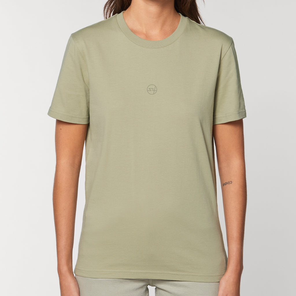 S4 Block Colour Tee - Sage