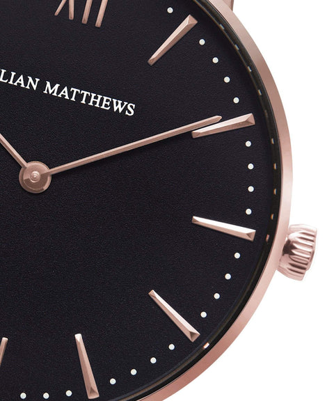 ONE BLACK MESH Rose Gold - JULIAN MATTHEWS