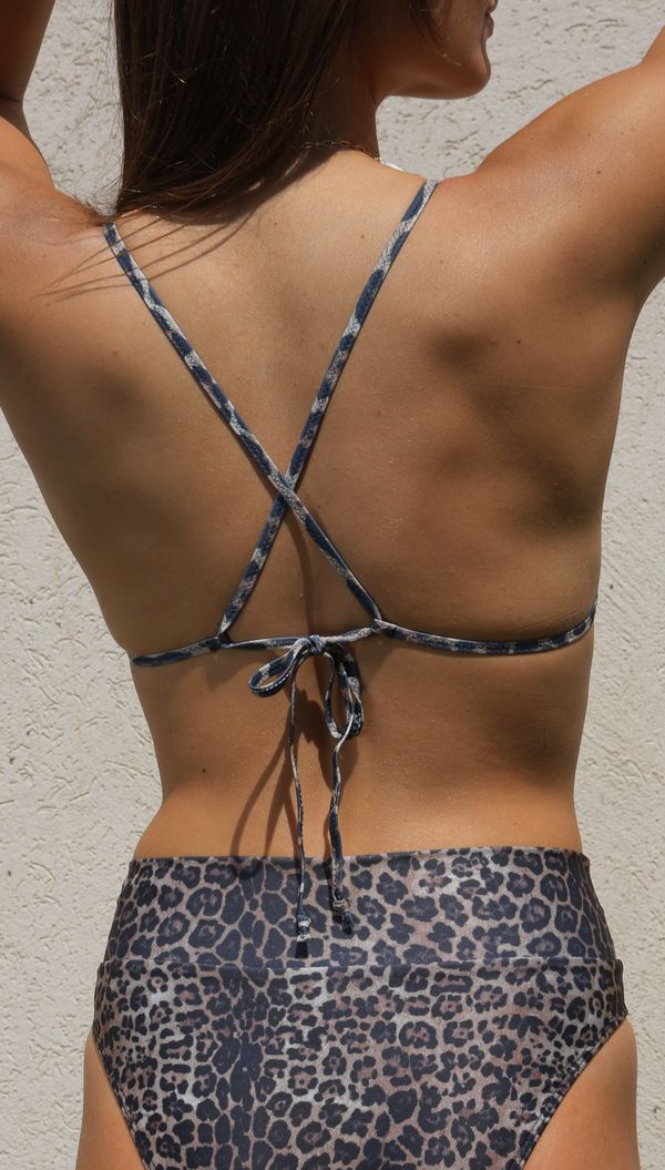 Tiger Triangle BIKINI with High Pants