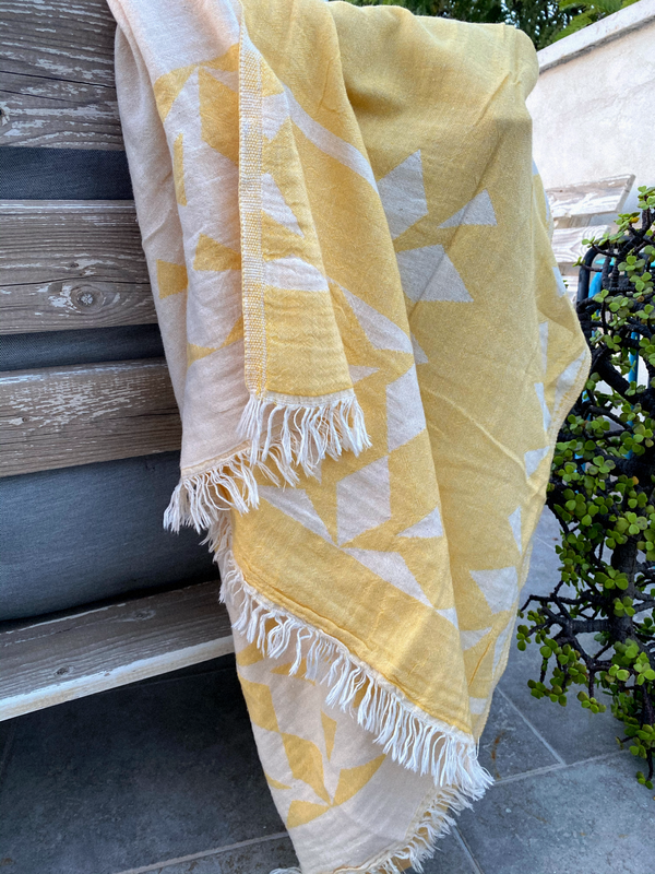 The Cozy Ethnic beach towel