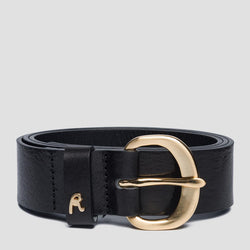 Replay  VINTAGE PULL UP BELT BLACK