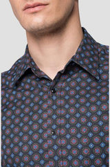 SHIRT WITH ALL-OVER FLORAL PRINT